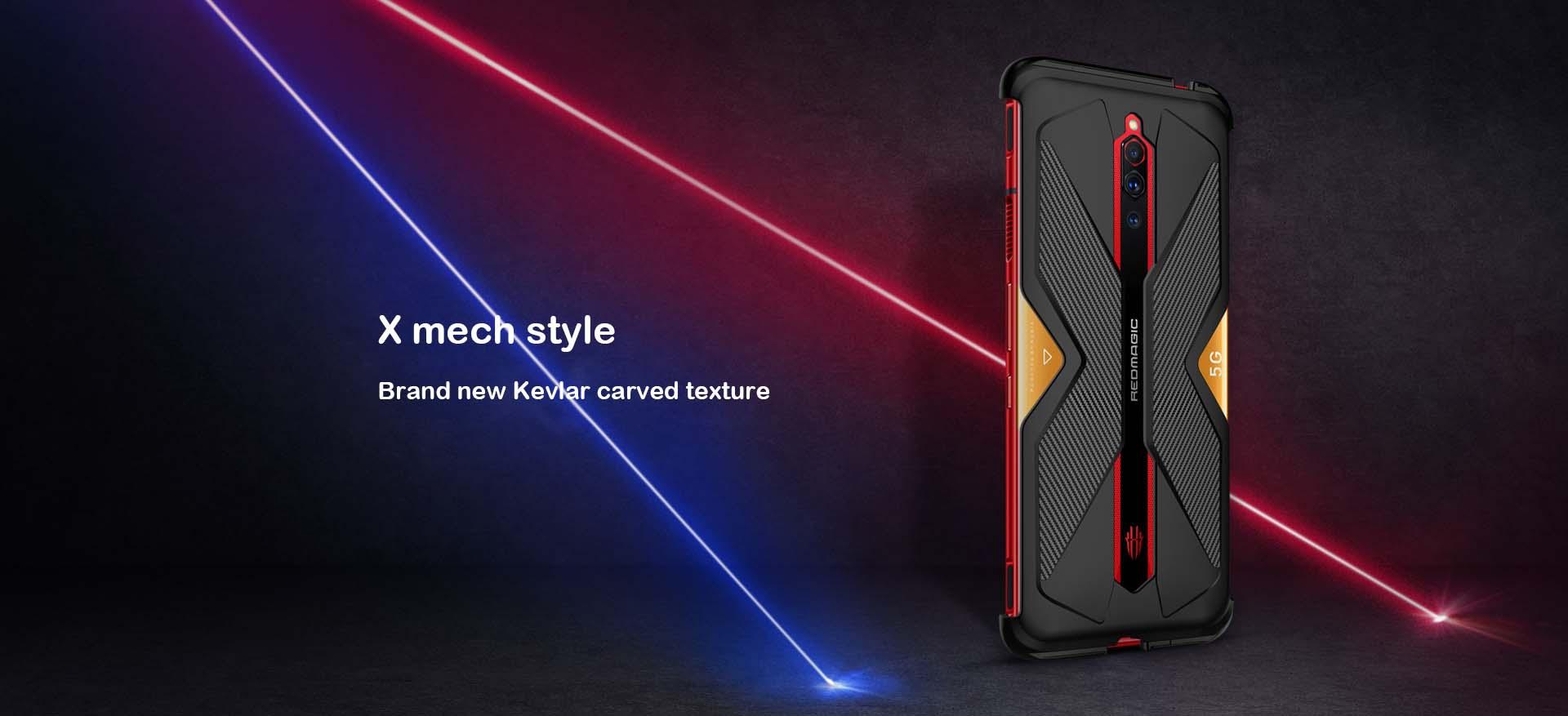 Original Nubia Red Magic 5G case