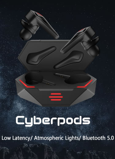 Original Nubia Red Magic Cyberpods TWS Gaming Earbuds
